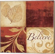 Red Gold Believe Fine-Art Print