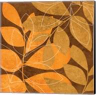 Orange Leaves 2 Fine-Art Print