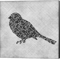 Brocade Bird 1 Fine-Art Print