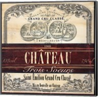 Grand Vin Wine Label II Fine-Art Print