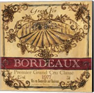 Grand Vin Wine Label III Fine-Art Print