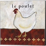 French Country Kitchen II (Le Poulet) Fine-Art Print