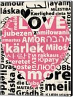 Love Lanquages 2 Fine-Art Print
