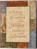Achieve Your Dreams Fine-Art Print