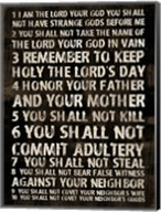 Full 10 Commandments Fine-Art Print