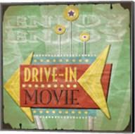 Drive In Fine-Art Print