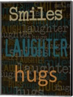Smiles Laughter Hugs Fine-Art Print