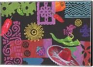 Fiesta (black) Fine-Art Print