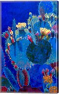 Prickly Pear Blue Fine-Art Print