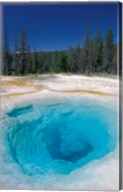 Morning Glory Pool, Yellowstone National Park, Wyoming Fine-Art Print