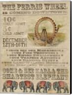 Vintage Circus IV Fine-Art Print