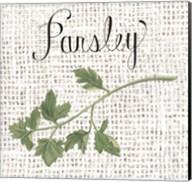Burlap Herbs IV Fine-Art Print