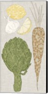Contour Fruits & Veggies VI Fine-Art Print