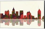 Atlanta Georgia Skyline 1 Fine-Art Print