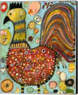Blubs The Chicken Fine-Art Print