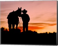 Cowboy Sunset Fine-Art Print