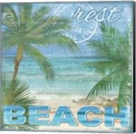 Beach Palm I Fine-Art Print