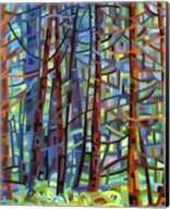 In A Pine Forest Fine-Art Print