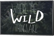 Where the Wild Things Are Fine-Art Print