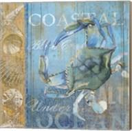 Crab and Sea Fine-Art Print