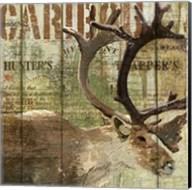 Open Season Caribou Fine-Art Print