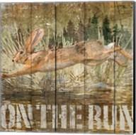Rabbit on the Run Fine-Art Print