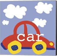 Red Car Fine-Art Print