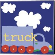 Blue Truck Fine-Art Print