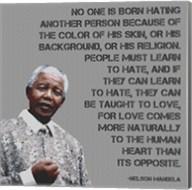 No One - Nelson Mandela Quote Fine-Art Print