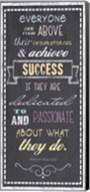 Achieve Success - Nelson Mandela Quote Fine-Art Print