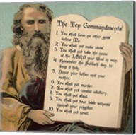 Tablets of the Ten Commandments Fine-Art Print