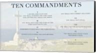 Ten Commandments - Cross Fine-Art Print
