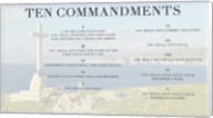 Ten Commandments - Cross Fine-Art Print