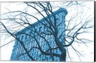 Blue Flatiron Fine-Art Print