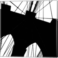Brooklyn Bridge Silhouette (detail) Fine-Art Print