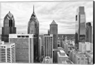 Philly Skyline (b/w) Fine-Art Print