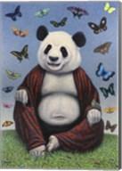 Panda Buddha Fine-Art Print