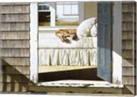 Beach House Dog Fine-Art Print