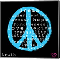 Peace Words Fine-Art Print
