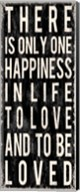 There Is Only One Happiness In Life Fine-Art Print