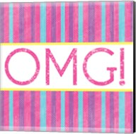 OMG Stripes Fine-Art Print