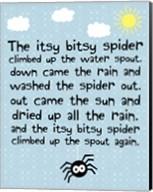 Itsy Bitsy Spider Fine-Art Print