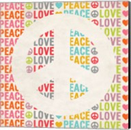 Peace Love 2 Fine-Art Print