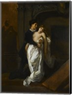 Romeo and Juliet at the Capulet Tomb Fine-Art Print
