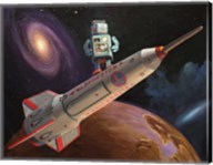 Rocket Surfer Fine-Art Print