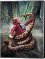Snakefight Fine-Art Print