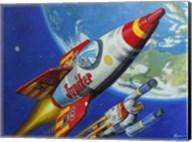 Space Patrol 2 Fine-Art Print