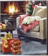 Log Fire 2 Fine-Art Print