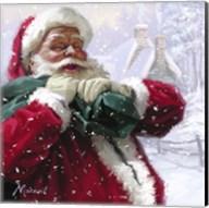 Jolly Santa Fine-Art Print