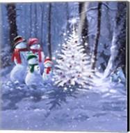Snow Family 1 Fine-Art Print